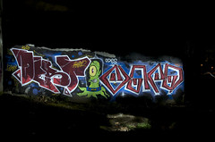 Parque: Dest-Void  Night-Pieces BXLV - 264x (Jupiter-JPTR) Tags: parque germany graffiti character cologne colonia nightshots buster void dest ccaa nightvisions kvs jptr odes hiddenspaces nightpieces