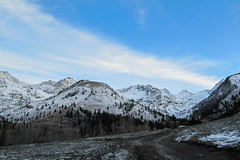 Wasatch Morning (kf7mgt) Tags: sky snow mountains west outdoors utah wasatch wildwest mountainrange snowpack wasatchmountains utahlandscapes americanforktwins