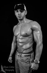 Photo Shoot - Model Christopher (Shawn Collins Photography) Tags: male men guy hat photography model photoshoot modeling body masculine chest extreme massive goals bodybuilder fitness abs built bodybuilders weightlifters fitnessmodel extremefitness gainz