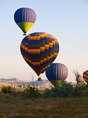 Early Risers (iamfisheye) Tags: turkey 2010 1454mm balloonride camera cappadocia e3 goreme kit lens olympus zd zuiko turkey2010