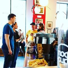 Happy Grand Opening @modcupcoffee #drinkmoderncoffee #eatawesomeaffogatos #blacklabelvanilla (bucketandbay) Tags: bucketandbay jerseycity gelato