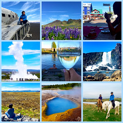 160604 Trip Collage (Fob) Tags: june 2016 travel trip roadtrip europe iceland people me family