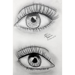 Crystaleyes (S Valenciart) Tags: blackandwhite art arte crystal crystaleyes eyes ojos lpiz grafito graphite sketch drawing dibujo