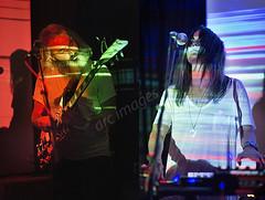 Moon Duo (Gig Junkies) Tags: moon duo goa express hey bulldog live gig concert hebden bridge trades club rock music