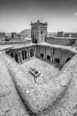 Desert Architecture (Zouhair Lhaloui) Tags: desertarchitecture architecture morocco maroc aitbenhaddou blackandwhite monochrom travel travelphotography windows gates doors zouhairlhaloui zlphotography 2015 nikond810