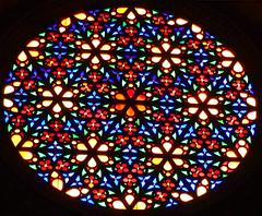 Rose Window (Carl Neufelder) Tags: stainedglass window round mallorca palma church cathedral rosewindow explore explored