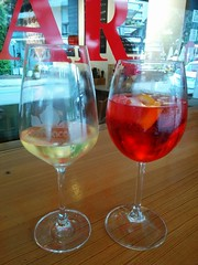 2016_01_Spritz e vino (Simosprizz) Tags: campari spritz lignano gialla ribolla perbacco