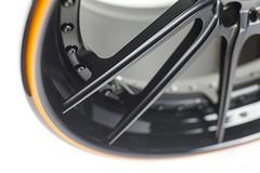 brixton forged m53 targa series forged wheels black orange 01 (brixton forged) Tags: brixton forged wheels m53 targa series concave black orange pinstripe mclaren mp412c