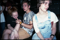 (Igor Baranchuk) Tags: colour film girl youth analog 35mm finger olympusmju colourfilm