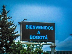 Welcome to Bogotá!
