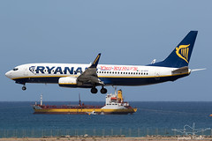 EI-EFP | Ryanair Boeing 737-8AS | Lanzarote/Arrecife (GCRR/ACE) (Joshua_Risker) Tags: europe yes eu ryanair referendum 737800 738 7378as eiefp