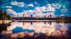 (vladwolfram1) Tags: city sky cloud water sony kit 1855mm hdr a55