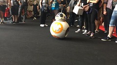 BB-8 (AlecSkid) Tags: london star force celebration wars droid excel awakens bb8