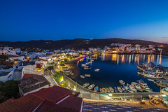 View from the balcony at blue hour (Vagelis Pikoulas) Tags: travel blue sea summer holiday seascape canon landscape island holidays europe view july tokina greece hour 6d 2016 kyklades kythnos 1628mm flickrbronzetrophygroup