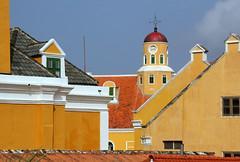 Happy Sunday ! / Fortkerk (Fortchurch), Willemstad, Curaao, Netherlands Antilles (Frans.Sellies) Tags: curacao curaao willemstad img0179 fortkerk