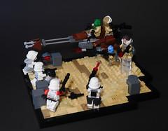 Rebel Assault (Jacob L. M.) Tags: star cool sand war lego stormtrooper wars rebels