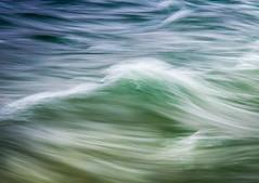 Waves (andreassofus) Tags: travel blue summer green nature water river landscape movement waves dramatic canyon lapland summertime drama watersplash abisko travelphotography abiskonationalpark intimatelandscape abiskocanyon