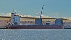 Gulf Angel (TR) (Kay Bea Chisholm) Tags: water rivermersey docks birkenhead quay eastfloat turkey ship cargo general gulfangel