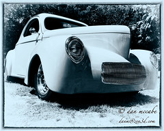 Hot Rod - 1941 Willys Coupe (zen3d ) Tags: hotrod 1941 willys