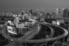 DSC_3796 (Ignacio Blanco) Tags: thailand bangkok metropolis oriental orientalcity future night lighttrails longexposure infrastructure highway cityscape skyscrapers skyline vantagepoint ratchapraroptowermansion