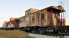 Louisville, Kentucky (9 of 11) (Bob McGilvray Jr.) Tags: louisville ky kentucky caboose steel cupola nw norfolkwestern railroad train tracks saved scrap
