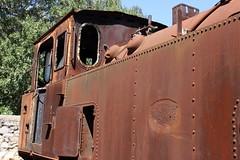 VOLOS, GREECE. (Andrew Mansfield - Sheffield UK) Tags: steam trains railways tren treni treno volos greece steamengine ferrocarril