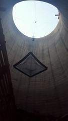 Orlando Cooling Towers Interior (Rckr88) Tags: johannesburg jhb jozi gauteng south africa southafrica orlandocoolingtowers orlandocoolingtower orlando coolingtowers coolingtower cooling towers tower bunjeejump bungeejump bunjee bungee net nets building buildings architecture industry industrial travelling travel