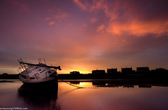 Meols Beach (5 of 7) (andyyoung37) Tags: beech meolsbeech merseyside reflections silhouette sea seaside sky sunrise thewirral meols england unitedkingdom gb