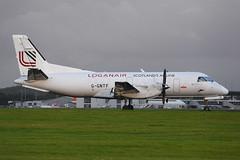 G-GNTF.GLA070816 (MarkP51) Tags: ggntf saab340a loganair glasgow airport gla egpf scotland aviation aircraft airplane plane image markp51 nikon d7200