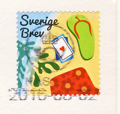 Schweden August (postcardlady1) Tags: briefmarke stamp
