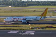Pegasus Airlines Boeing 737-82R(WL) TC-IZJ (EK056) Tags: pegasus airlines boeing 73782rwl tcizj dsseldorf airport