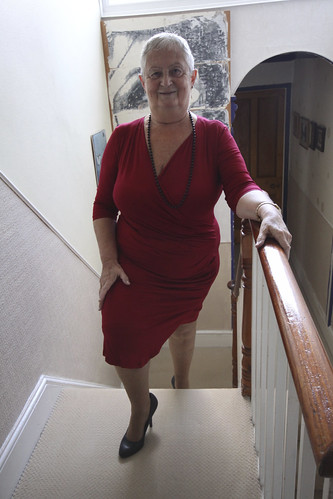 Frocks on the stairs 79/3.
