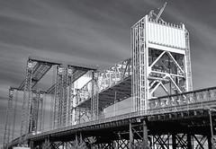 Bridges (jores59) Tags: kodakmedalistii medalistii medalist 620film 6x9 weymouth weymouthma foreriver foreriverbridge ilfordfilm mediumformat
