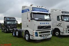 Volvo FH 'Pentalver' reg GK58 UMW (erfmike51) Tags: volvofh artic truck lorry pentalver swedefest2016