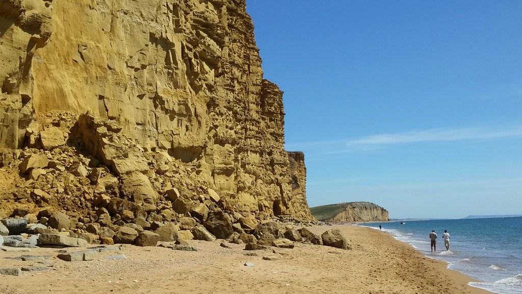 Jurassic Coast Rockfall