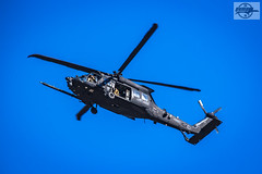 Sikorsky UH-60 Black Hawk at St. Louis, MO (Mo-Pump) Tags: aircraft air airport airplane airborne airframe helicopter heli rotor army blackhawk sikorsky
