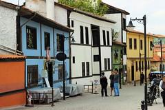 Houses (fragile_dreams) Tags: eskisehir eskiehir canon 50mm odunpazar old house colours buildings travell tour oldcity city streetphot streetphotography street