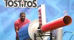 LaDainian Tomlinson at Tostitos #PartyBlvd at Super Bowl XLIX (ProductionsNewYork) Tags: phoenix az usa