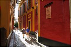 A Sevilla, Andalucia, Espana (claude lina) Tags: claudelina espana spain espagne andalucia andalousie sevilla sville ville town city architecture rue street ruelle