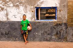 I want to be like Neymar ;) (.sl.) Tags: essaouria maroc people streetphotography morroco kid soccer football window wall streetportrait portrait