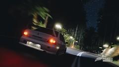 Ghost in the Night (Patrick McGehee) Tags: forza horizon 3 forzahorizon3 cars evo mitsubishi evolution tuner touge night drive gaming xbox