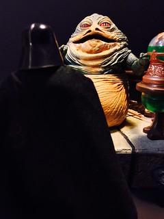 Vader meets with Jabba, Marvel comics Darth Vader #1