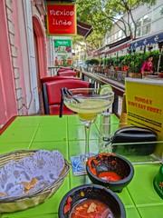 Mexican Dinner @Mexico Lindo, Laowaijie, Shanghai (Phreddie) Tags: china food mexico restaurant frozen yum shanghai drink mexican cocktail lindo eat taco margarita enchilada 150329 laowaijie