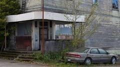 Portage Store (joeqc) Tags: abandoned car island store sound wa puget vashon