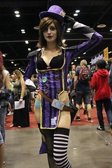 IMG_6148 (keath kono) Tags: orlando cosplay avatar superman megacon captainamerica poisonivy harleyquinn hawkgirl cosplayers korra powergirl ivydoomkitty noflutter megacon2015