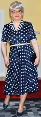 Ingrid019225 (ingrid_bach61) Tags: glasses dress mature brille haare kleid graue