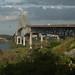 Puente de las Americas, entrada ou saída do canal