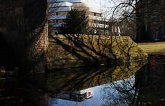 Lights, shadows & reflections (_dankhn) Tags: nature water buildings reflections germany deutschland lights wasser shadows natur nrw schatten gebude nordrheinwestfalen mnster lichter reflektionen northrhinewestphalia