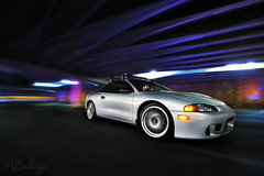 (Andrew Barshinger Photography) Tags: longexposure car canon eclipse wideangle automotive rig dsm 6d rigshot