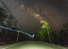 Star Wars (Fevzi DINTAS) Tags: longexposure sky people lightpainting nature night forest stars landscape starwars model peace space aerial astro adventure human galaxy silence astronomy universe cinematic adrenaline nationalgeographic milkyway paza140